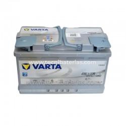 Baterias para Carro Varta 80 AH