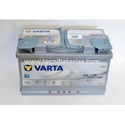 Baterias para Carro Varta F21 80AH