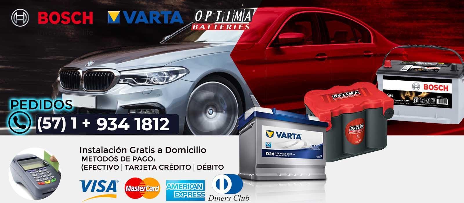 BATERIAS PARA CARRO A DOMICILIO EN BOGOTÁ